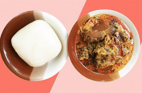 Fufu, la polenta africana che spopola sui social