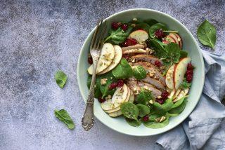 Insalata tacchino e mele: insolita ma gustosa