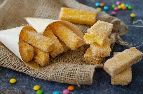 Polenta dolce fritta: recuperare gli avanzi
