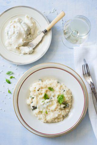 Risotto con gorgonzola al mascarpone