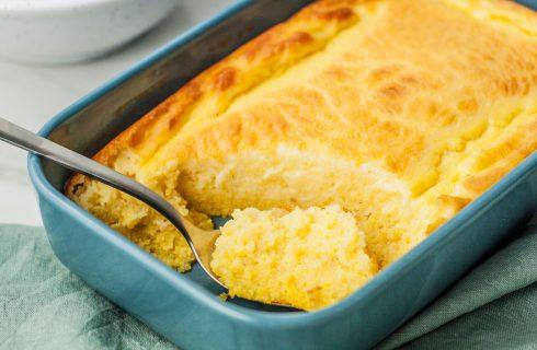 Hai mai provato lo spoonbread, il pane al cucchiaio?