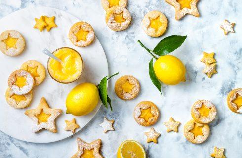Biscotti con crema di limone: profumatissimi