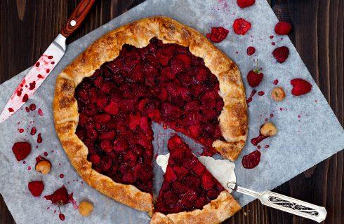 Torta rustica ai lamponi: facilissima