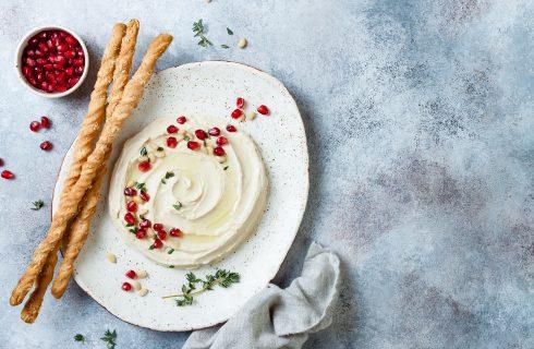 Hummus senza tahina, dal medioriente