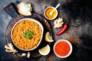 Dahl: piatto indiano con le lenticchie