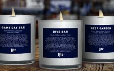 Arrivano le candele che profumano... di bar