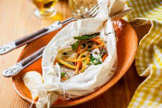 Piccola guida alla cottura al cartoccio, sana e leggera
