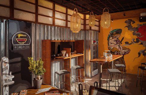 Komorebi Ramen Bar, Ostia