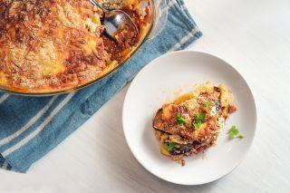 Lasagna con parmigiana: una goduria