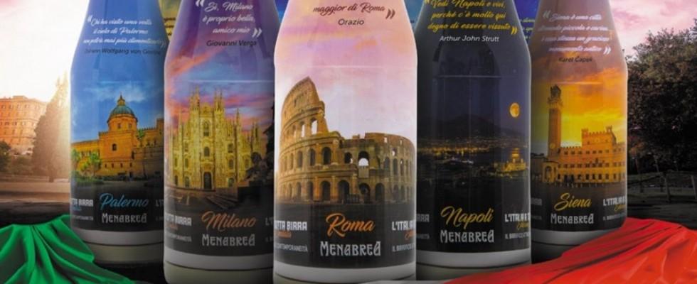 Menabrea strizza l'occhio alle bellezze d'Italia nella nuova limited edition