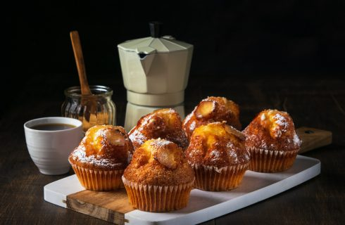 Muffin vaniglia e caffè: per la festa del papà