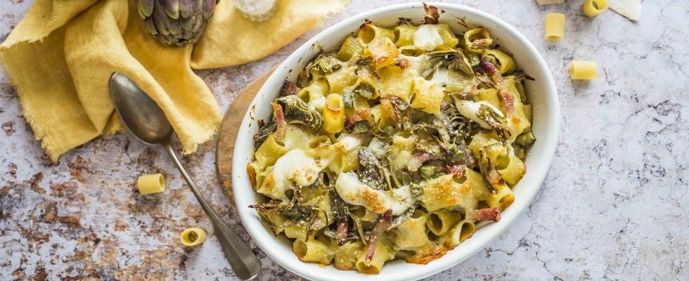 Pasta ai carciofi: 5 ricette da provare subito