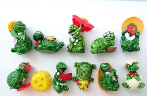 Nostalgia: le sorpresine anni '90 dell'Ovetto Kinder