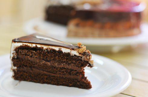 Torta panna e cioccolato: senza uova