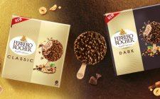 I prodotti Ferrero diventano gelati