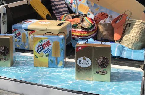 Mangiato da noi: i gelati Ferrero, Estathé Ice e Ferrero Rocher