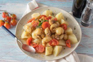 Insalata di seppie e patate: arriva l'estate