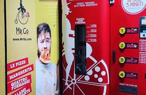 A Roma nasce un distributore di pizza aperto 24 h