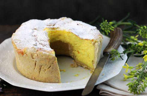 Soffione abruzzese, la torta alla ricotta