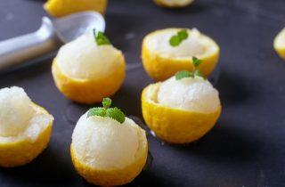 Gelato al limone, fatto in casa