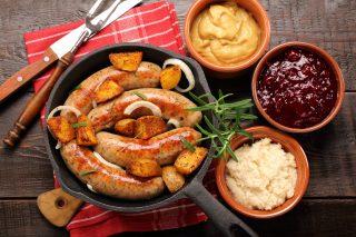 Salsiccia di maiale e patate: buonissime