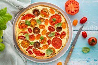 Crostata di Pomodori: arriva l'estate