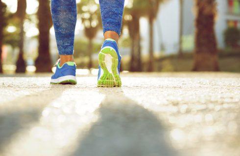 Dimagrire camminando si può, se mangi bene