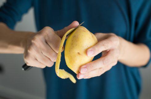 Non buttare le bucce di patata, usale così
