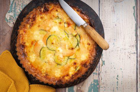 Crostata di zucchine, perfetta per il pic-nic