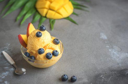 Gelato al mango: freschezza tropicale