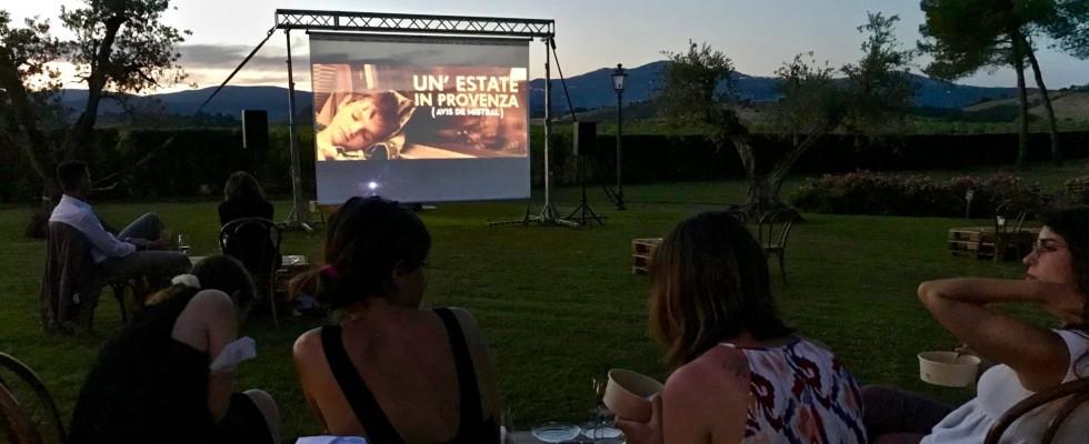 In Toscana quest'estate si va al cinema con gusto