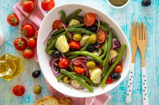 Dall'orto: insalata di patate alla siciliana
