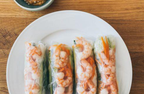 How to: come preparare i Goi Cuon involtini di carta di riso vietnamiti