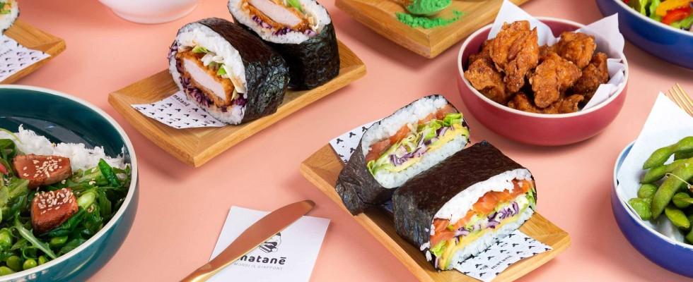 Matanē a Milano unisce onigiri e sandwich con gli onigirazu