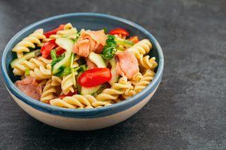 Pasta al salmone fredda: ideale per l'estate