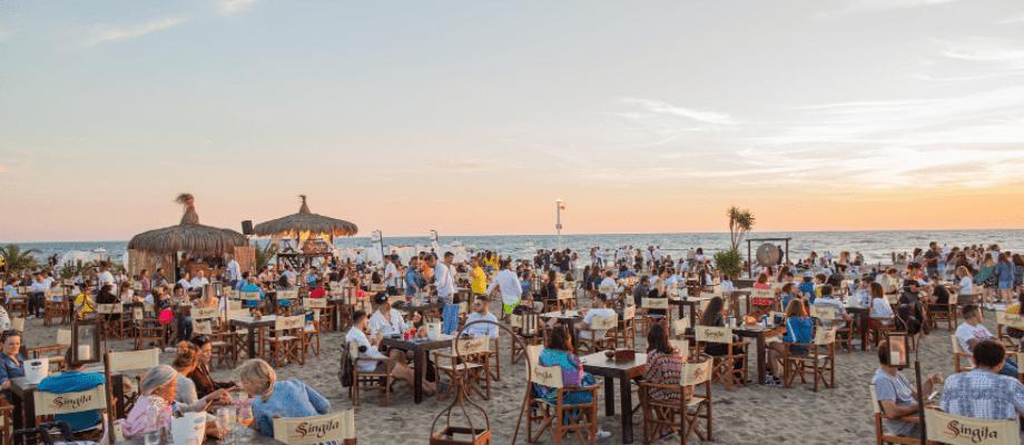 Singita Miracle Beach, Fregene
