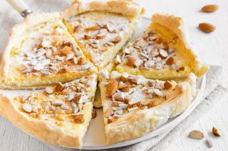 Torta mascarpone e mandorle: golosa
