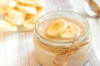 Budino di banana: dessert al cucchiaio