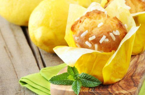Muffin al limone e yogurt: per la merenda