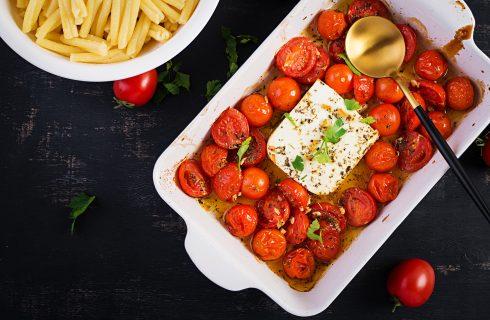 Pomodori e feta al forno: la ricetta di TikTok