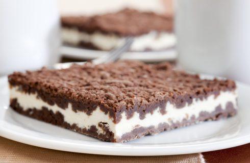 Sbriciolata cioccolato e ricotta: per la merenda