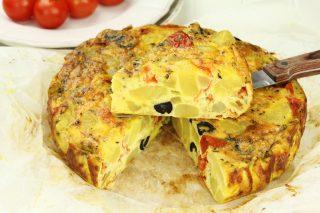 Frittata di patate e verdure: piatto unico