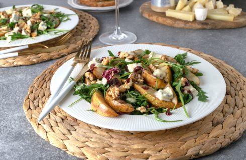 Insalata pere e gorgonzola: sfiziosa ma leggera