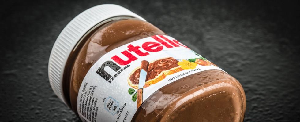 Nutella è la crema spalmabile più amata nel mondo