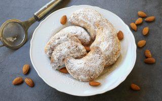 Kourabiedes, biscotti greci alle mandorle