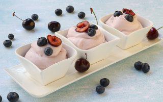 Crema al succo di frutta, veloce e senza uova