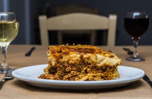 Pastitsio, la versione greca della pasta al forno