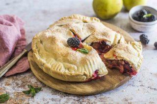Pie di mele e more: dall'America