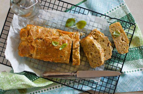 Plumcake salato di albumi e zucchine: torta rustica
