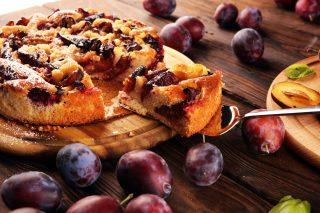Torta crema e prugne: per merenda